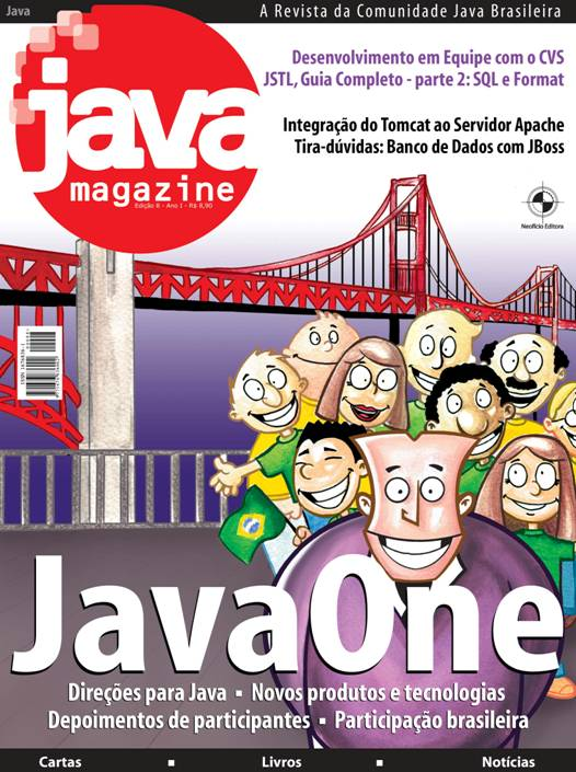 Revista Java Magazine Edi��o 08