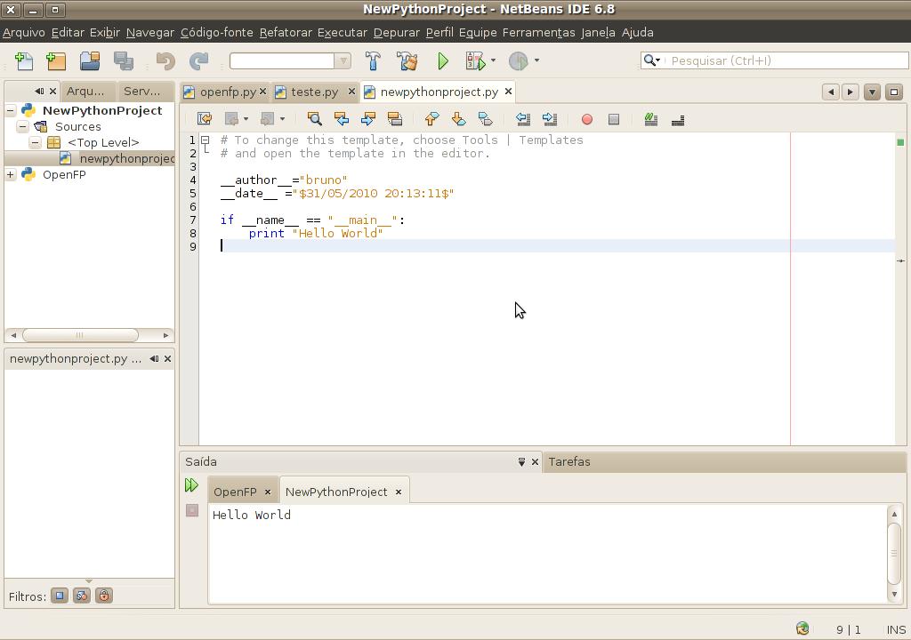 Aprendendo a programar em Python