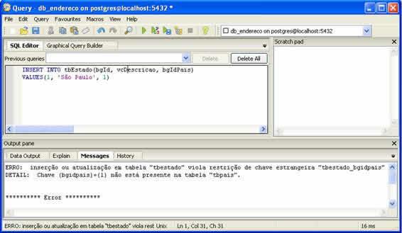 Comandos SQL - INSERT INTO