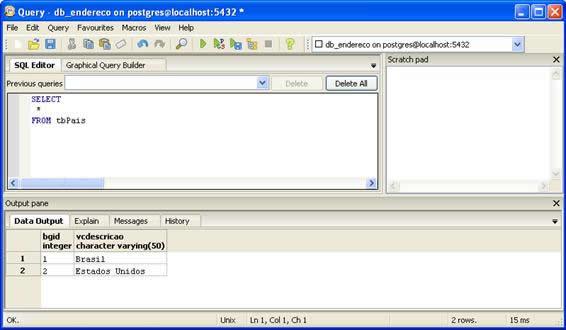 Comandos SQL - SELECT