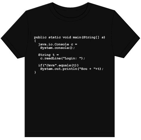 Camisa Java