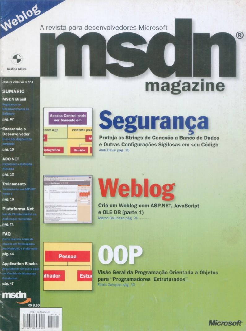 Edição 03 da Revista MSDN