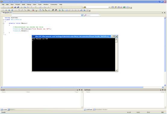 Using Classes To Build A Console Menu In C