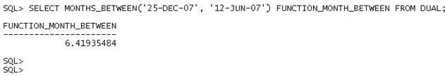 Data e Hora no Oracle - Exemplo 5