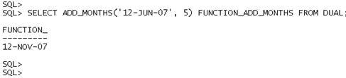 Data e Hora no Oracle - Exemplo 6