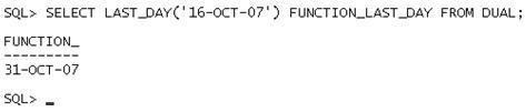 Data e Hora no Oracle - Exemplo 8