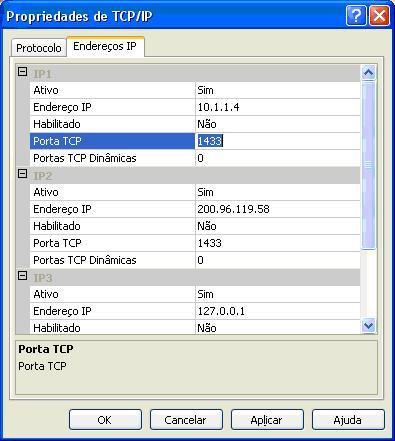 Erros de conex o com o sql server - Porta sql server ...