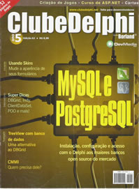 Revista Clube Delphi Edição 62: MySQL e PostgreSQL
