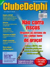 Revista Clube Delphi Edição 73: Organize as versões do seu código de graça
