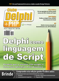 Revista Clube Delphi Edição 116: Delphi como linguagem de Script