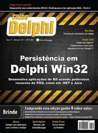 Revista Clube Delphi 121: Persitência em Delphi Win32
