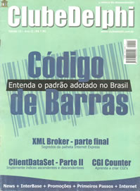 Revista Clube Delphi Edição 15: Saiba mais sobre o Código de Barras