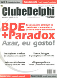 Revista ClubeDelphi Edi��o 32