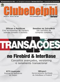 Revista Clube Delphi Edição 42: Transações no Firebird / InterBase