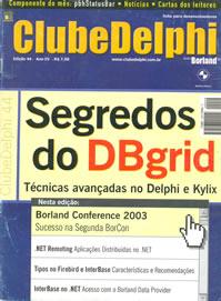 Revista Clube Delphi Edição 44: Segredos do DBGrid
