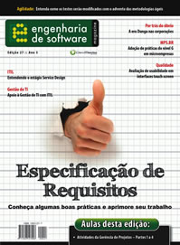 Revista Engenharia de Software 27: Especificação de Requisitos