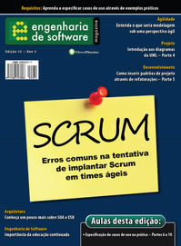 Revista Engenharia de Software 32: Erros mais comuns na tentativa de implementar Scrum