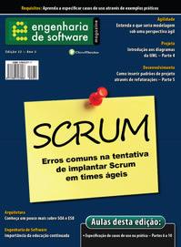 Revista Engenharia de Software 32: Erros mais comuns na tentativa de implementar Scrum