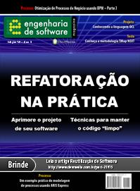 Revista Engenharia de Software Magazine 39: Refatoração na Prática