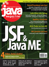 Revista Java Magazine Edi��o 45
