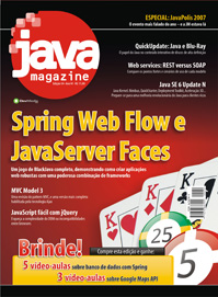 Revista Java Magazine Edi��o 54