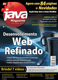 Revista Java Magazine Edi��o 61