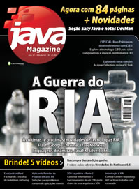 Revista Java Magazine Edi��o 63