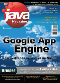 Revista Java Magazine Edi��o 71: Google App Engine
