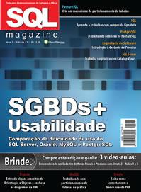 Revista SQL Magazine Edição 75: SGBDs + Usabilidade