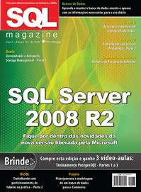 Revista SQL Magazine Edição 76: SQL Server 2008 R2