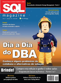 Revista SQL Magazine Edição 78 - Dia a Dia do DBA