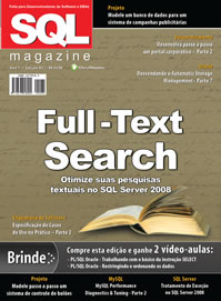 Revista SQL Magazine 82: Utilizando Full-Text Search