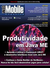 Revista WebMobile 26: Produtividade em Java ME