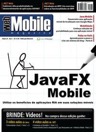 Revista WebMobile 28: JavaFX Mobile