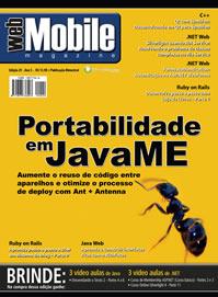 Revista WebMobile 29: Portabilidade em JavaMe