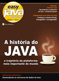 Revista Easy Java Magazine 1: A Hist�ria do Java