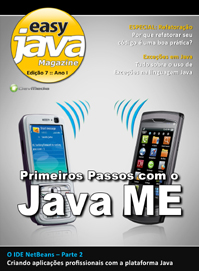 Revista easy Java Magazine 7: Primeiros passos com Java ME