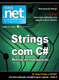 Revista easy .net Magazine 13: Strings com C# - Rotinas de manipulação