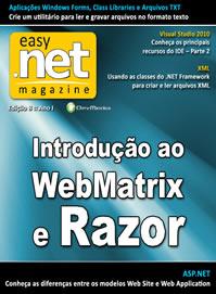 Revista easy .net Magazine Edição 8: Introdução ao WebMatrix e Razor