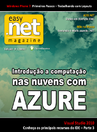 Revista easy .net Magazine Edi��o 9: Introdu��o ao Windows Azure
