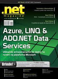Revista .net Magazine Edição 62: Azure, LINQ & ADO.NET Data SERVICES