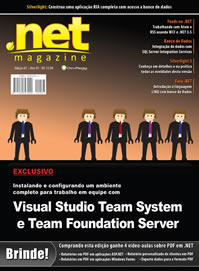 Revista .net Magazine Edição 67: Visual Studio Team System e Team Foundation Server