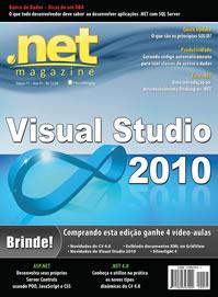 Revista .net Magazine Edição 71: Visual Studio 2010