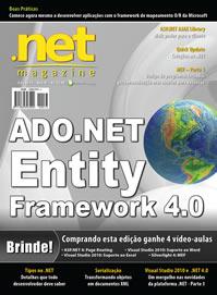 Revista .net Magazine Edição 73: ADO.NET Entity Framework 4.0