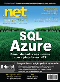 Revista .net Magazine Edição 75: SQL Azure com NHibernate e Entity Framework