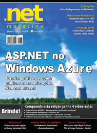 Revista .net Magazine Edição 77: ASP.NET no Windows Azure