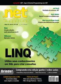 Revista .net Magazine Edição 78: Expressões de consulta LINQ