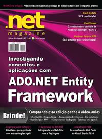 Revista .net Magazine Edição 80: ADO.NET Entity Framework