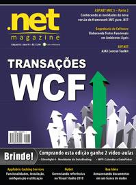 Revista .net Magazine Edição 82: Transações WCF