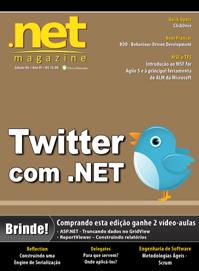 Revista .net Magazine Edição 84: Twitter com .NET